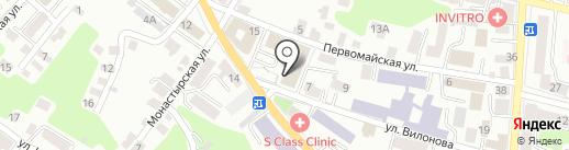 Управление Федеральной службы государственной регистрации, кадастра и картографии по Калужской области на карте Калуги