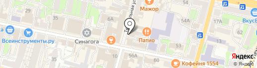 Магазин посуды на карте Калуги