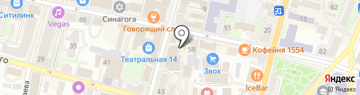 Винтаж на карте Калуги