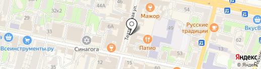 нжен ЛЁН на карте Калуги