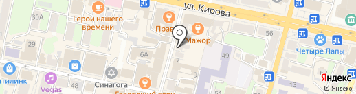 Техноковка на карте Калуги