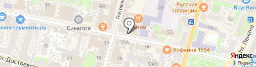 Юридическое бюро Ольги Абраменко на карте Калуги