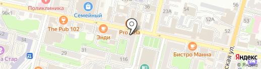 От Суханова ЕДА на карте Калуги