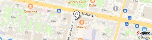 Пластика ОКОН регион на карте Калуги