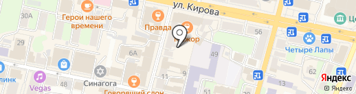 Брест+ на карте Калуги