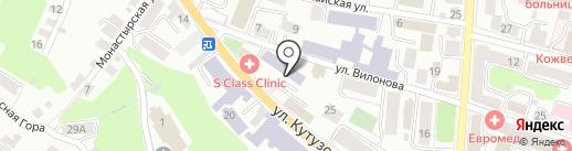 Центр повышения квалификации врачей Калужской области на карте Калуги
