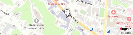 Лицей №9 им. К.Э. Циолковского на карте Калуги