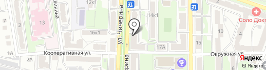 Салон-парикмахерская на карте Калуги