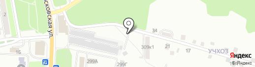 Ветеринарная областная станция по борьбе с болезнями животных на карте Калуги