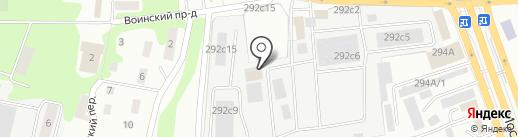 АВТОКОНТИНЕНТ40 на карте Калуги