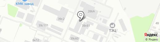 Каскад Инвест на карте Калуги