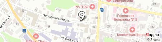 Калужское протезно-ортопедическое предприятие, ФГУП на карте Калуги
