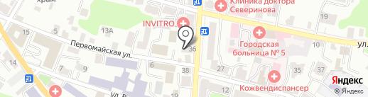 Калужский областной центр туризма, краеведения и экскурсий на карте Калуги