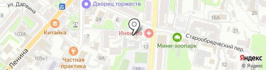 СОЮЗ на карте Калуги