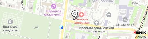 ЭКИПАЖ на карте Калуги