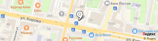 Сеть аптек на карте Калуги