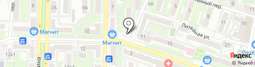 Модный карапуз на карте Калуги
