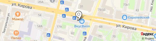 Банкомат, АКБ Связь-банк, ПАО на карте Калуги