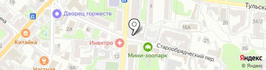 Сигма, ЗАО на карте Калуги