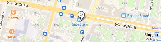 Гардероб на карте Калуги