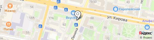 Кондитерский дом Ирины Мороз на карте Калуги