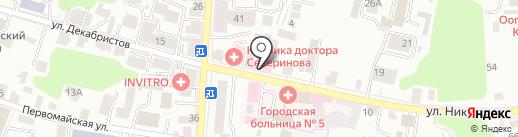 Славянская клиника на карте Калуги