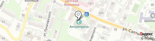 Областной молодежный центр на карте Калуги