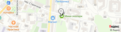Эколого-биологический центр Калужской области на карте Калуги