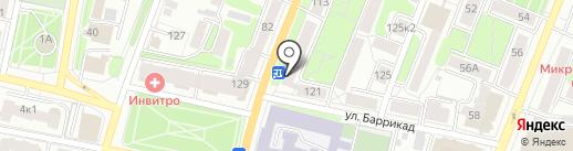 Touche на карте Калуги