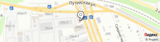 Навега+ на карте Калуги