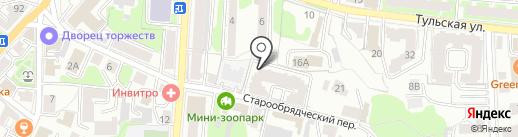 ТЕХЭНЭРГОСТРОЙ на карте Калуги