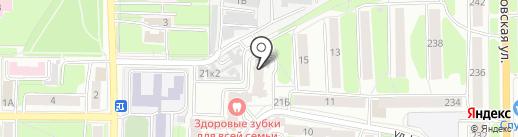 Калужский учебный центр менеджмента и предпринимательства на карте Калуги