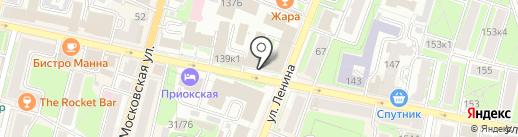 Информационный центр по предоставлению государственных услуг на карте Калуги