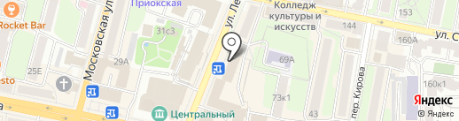 Союзспецоснащение, ЗАО на карте Калуги