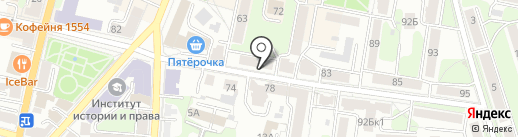 Клуб АвтоПомощь на карте Калуги