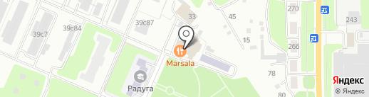 MARSALA на карте Калуги