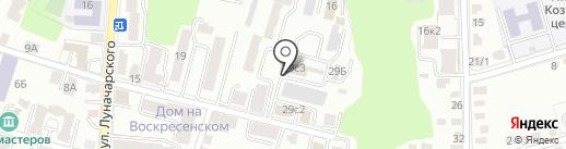Жилищное ремонтно-строительное управление №2 на карте Калуги