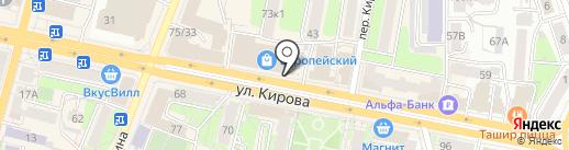 Банкомат, Юникредит банк на карте Калуги