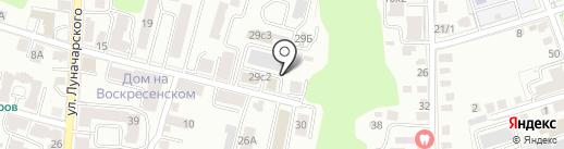 Элпро на карте Калуги