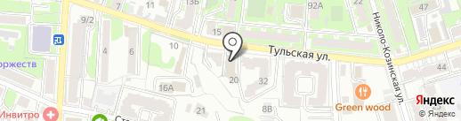 ЛИФТ ГРУПП на карте Калуги