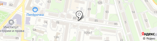 Монро на карте Калуги
