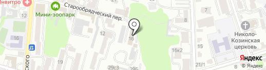 Банька на карте Калуги