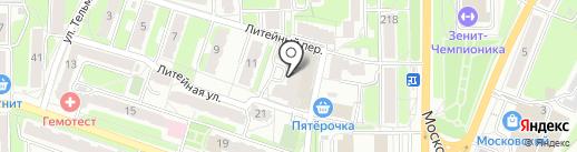 SEO40 на карте Калуги