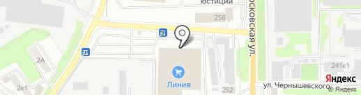 Комфорт на карте Калуги