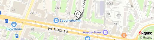 Экопрогресс на карте Калуги