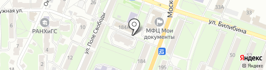Трактир №184 на карте Калуги