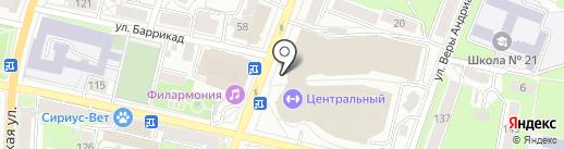 Магазин кондитерских изделий на карте Калуги