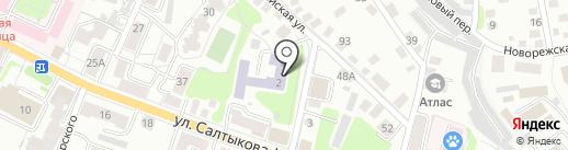 Средняя общеобразовательная школа №8 на карте Калуги