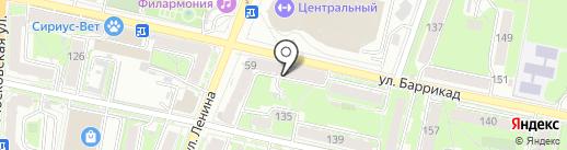 Участковый пункт полиции на карте Калуги