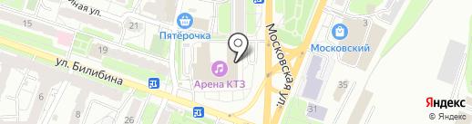 Арена КТЗ на карте Калуги